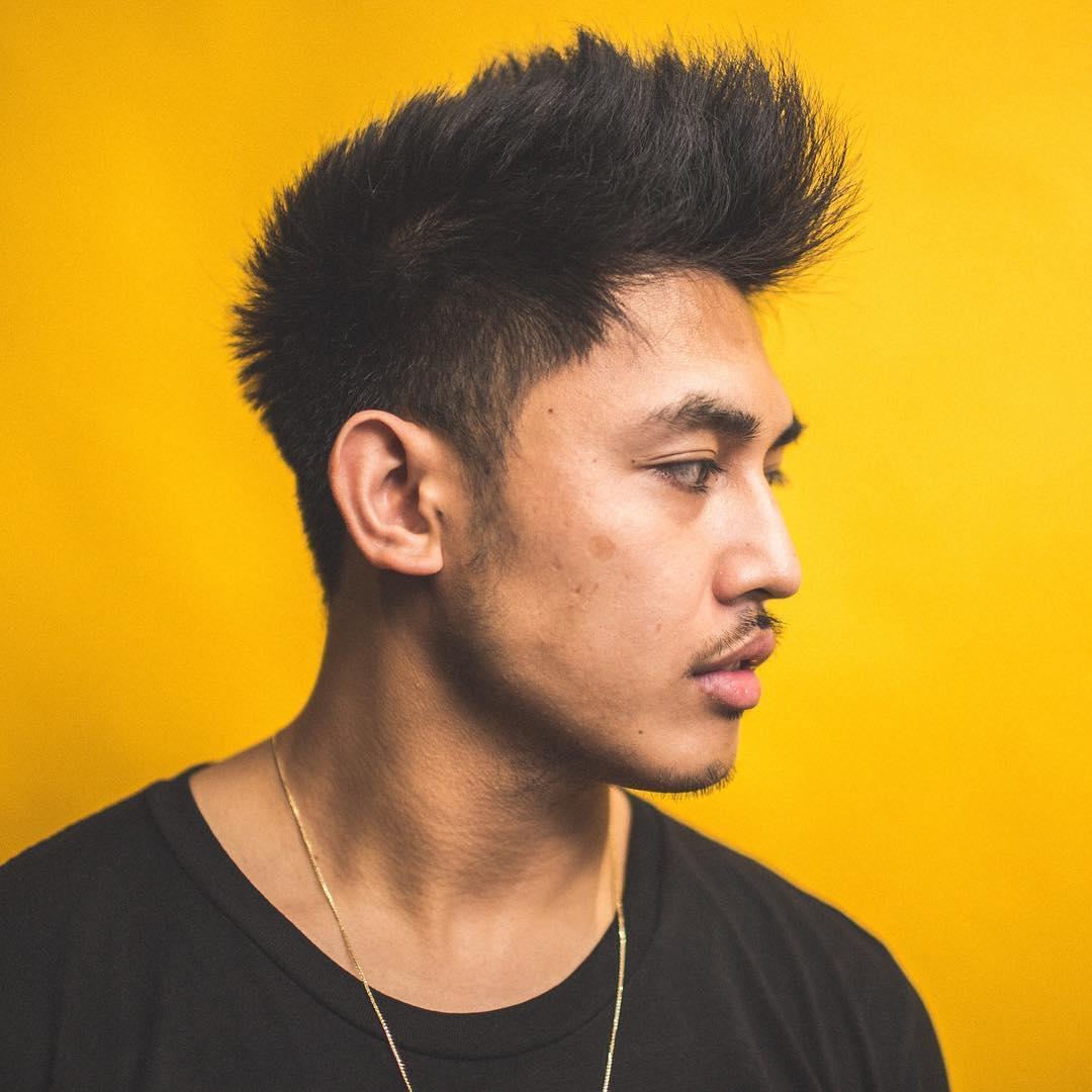 cheveux homme asiatique